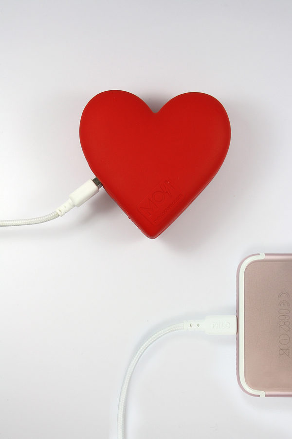 heart powerbank