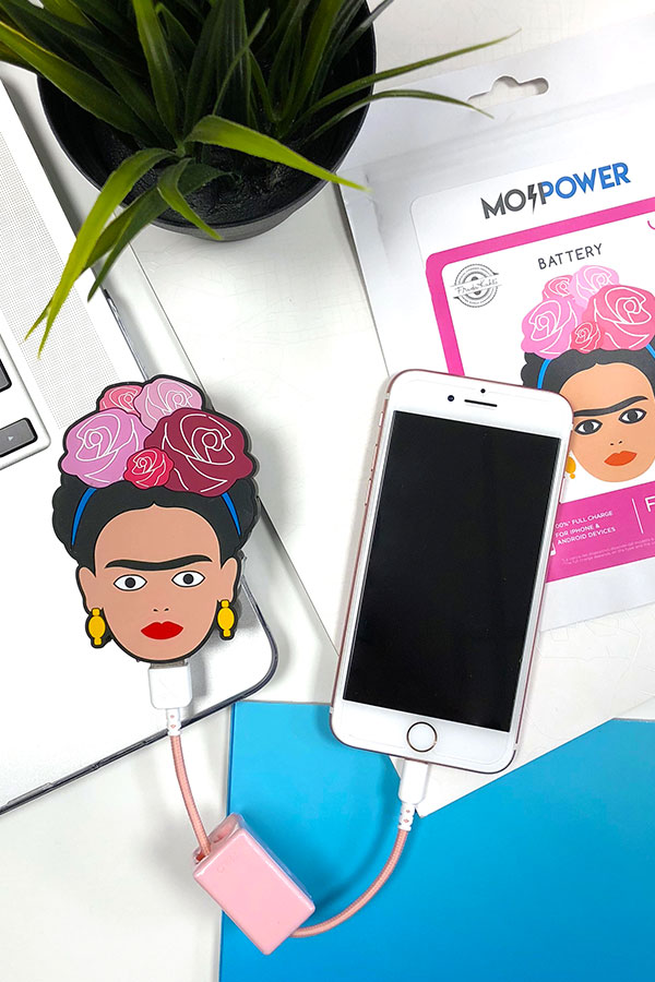 frida kahlo custom power bank personalized