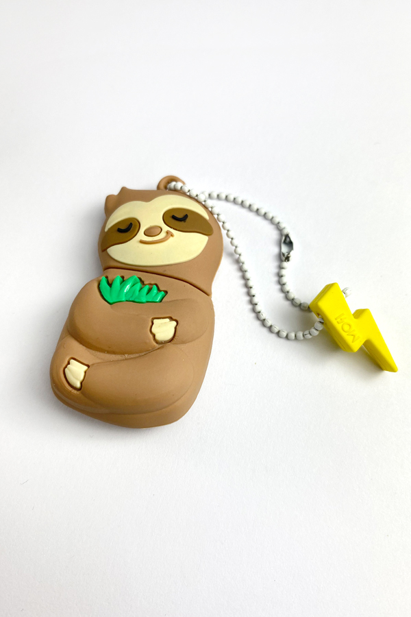 Mojipower Sleepy Sloth - Chiavetta USB